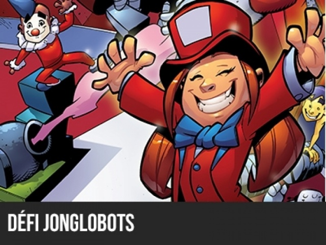 Robocircus 2014 - Défi Jonglobots