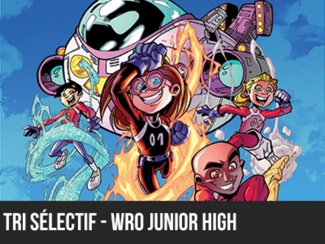 2016 - 5e élément - Tri sélectif - WRO Junior High